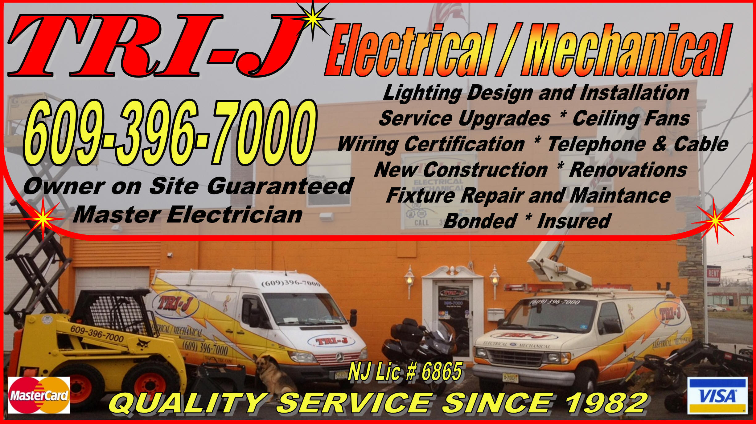Tri J Electrical Mechanical Commercial Motor Wiring